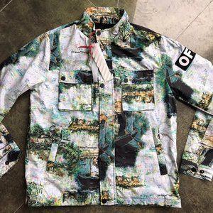 OFF White Men's Raincoat